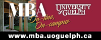 MBA - University of Guelph